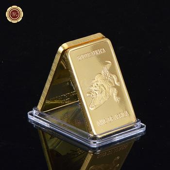 WR Wholesale 999 Real Gold Bar Deutsche 1 Oz Iron Metal 24k With