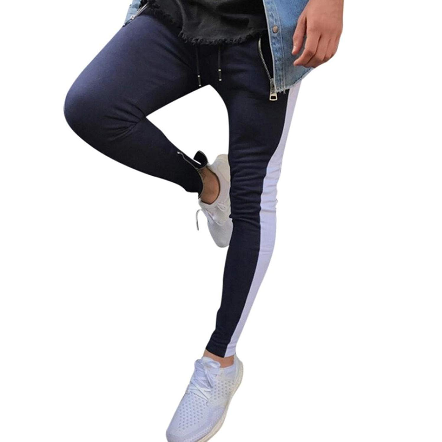 aaae8b93a5327 Get Quotations · Realdo Mens Slim Sports Trousers
