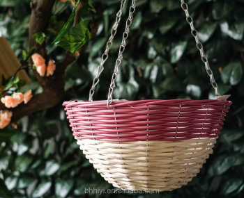 Wicker flower pot holder