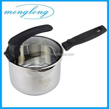 Most Por Pots With Strainer Lids Milk Boiling Pot Pasta Cooking