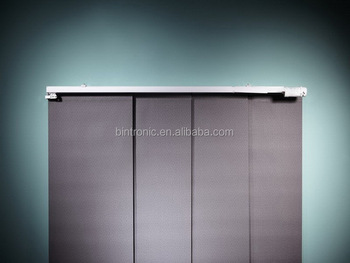 Bintronic Electric Motorized Partition Room Divider Panel Blind