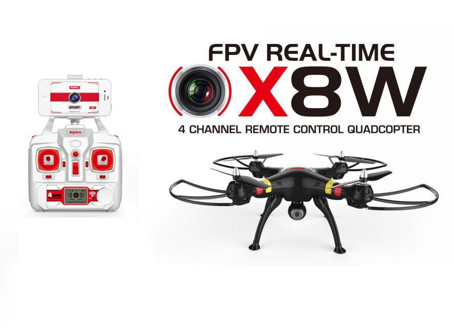 Syma X8W 2.4G 4ch 6 Axis Venture With 2MP Wifi FPV HD Camera RC Quadcopter RTF