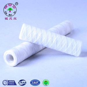 China factory price wholesale wire wound PP cotton 5 micron water filter cartridge for water filtration