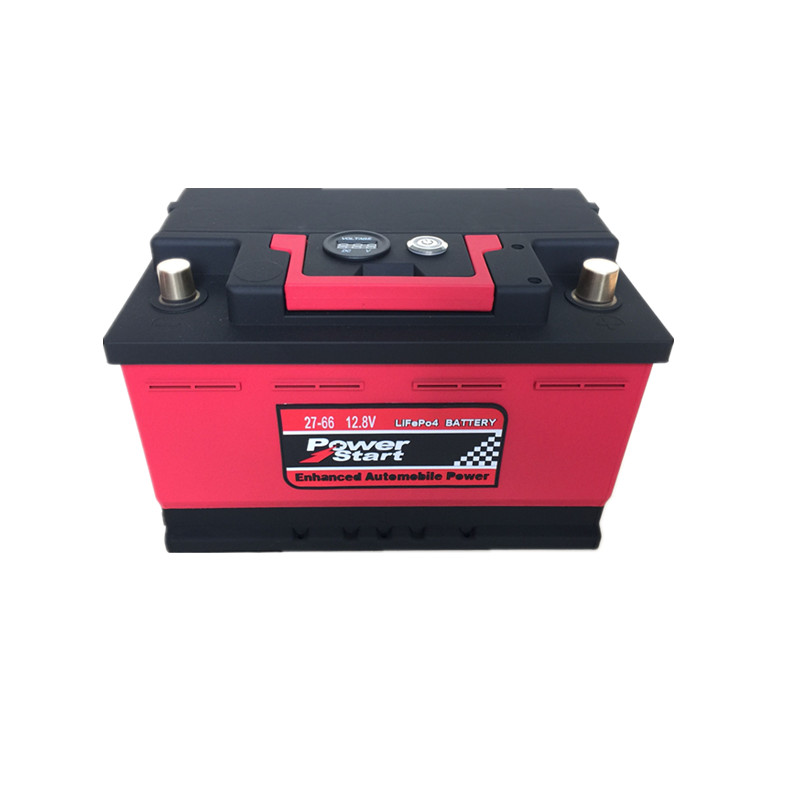 wholesale CE Rohs Fcc 2 years warranty LifePO4 12V 24V lithium ion car battery