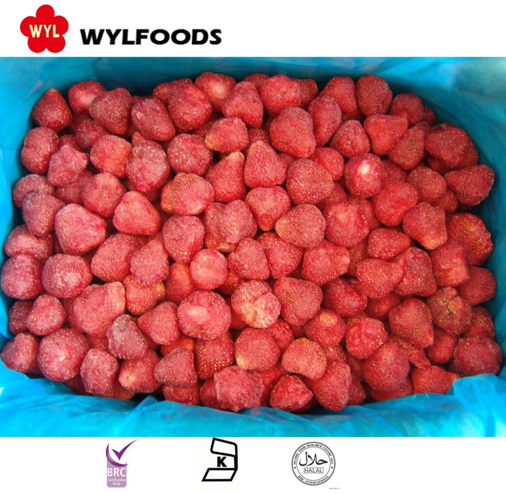 Wholesale Bulk IQF style fresh frozen strawberry