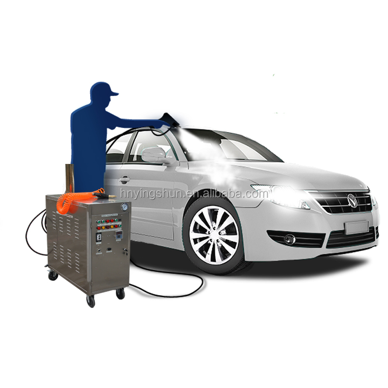 China CE 20bar mobile LPG steam tunnel car wash equipment