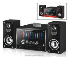Hi-fi 2.1 multimedia active speaker system with FM/USB/SD