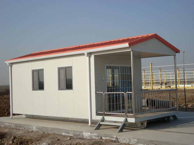 Cheap prefab steel structure house wooden bungalow villa prefab shipping container house for - Cheap prefab shipping container homes ...
