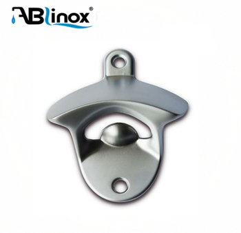 High quality 304 stainless steel casting for bottle opener