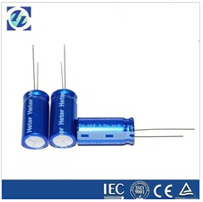 2.7V Cylindrical Super Capacitor; Ultra Electrolyte Capacitor; 10F Capacitor