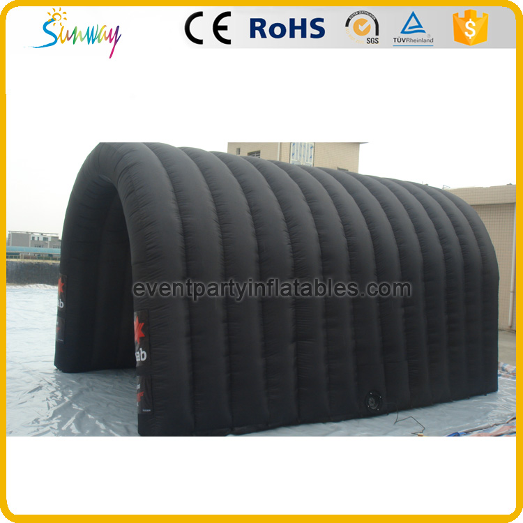 China factory custom made inflatable tunnel tent
