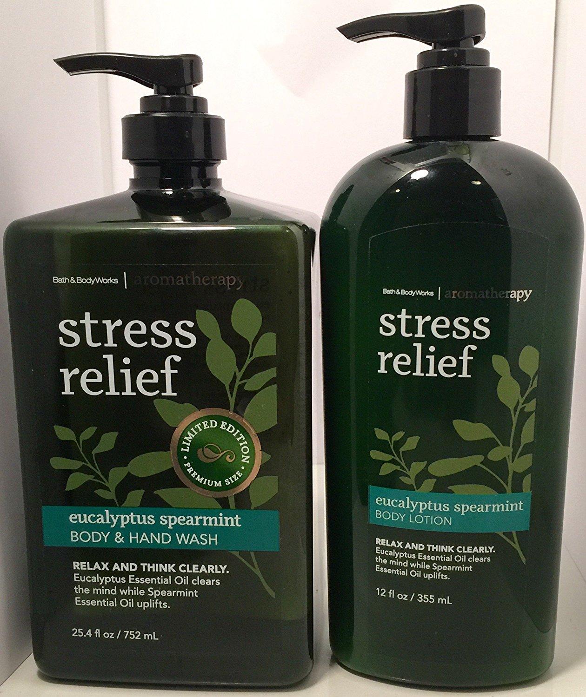 Buy Bath Body Works Aromatherapy Eucalyptus Spearmint Hand And Body