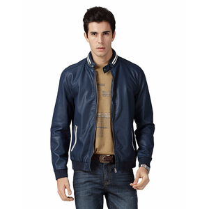 Custom Softshell Outdoors cheap trendy Mens Pu leather Jackets