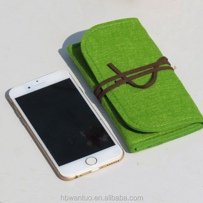 2019 High Quality Felt Mobile Phone Bag/Felt Cell Phone Bag/Cell Phone Case China Supplier
