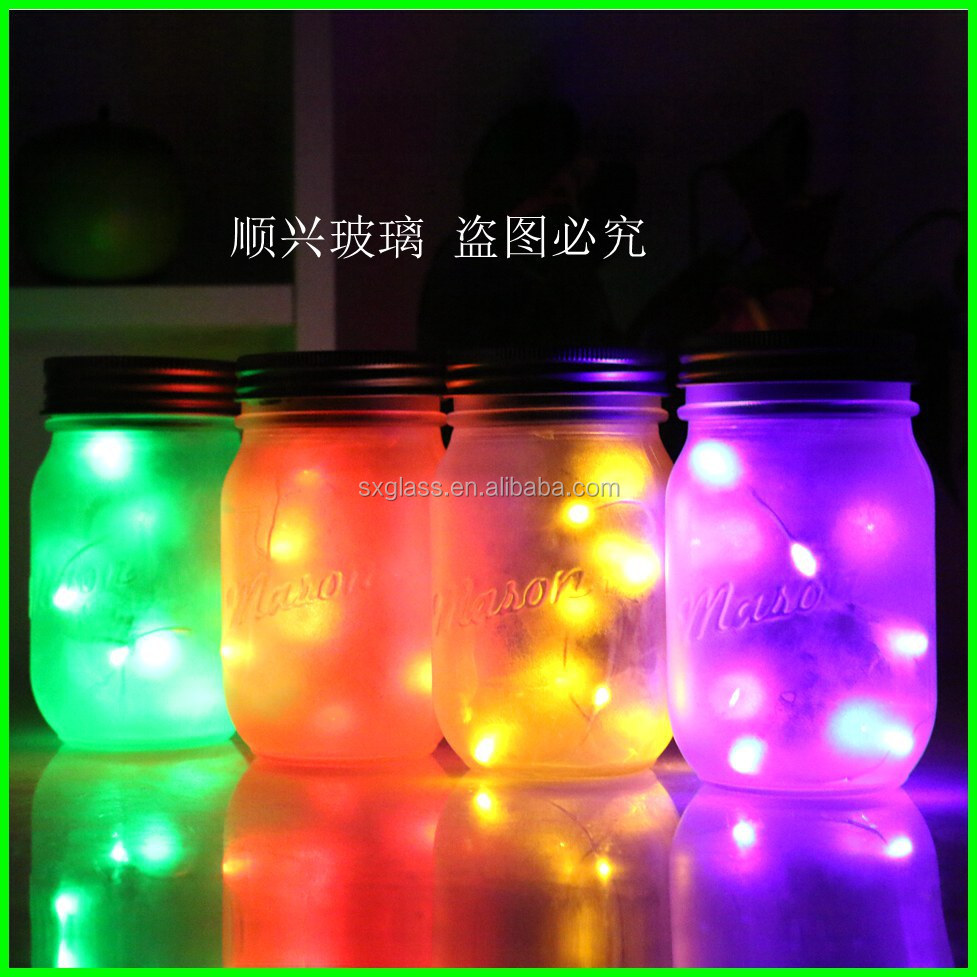 Holiday Decoration Light Solar Mason Jar 60279693531 on solar panel led lights