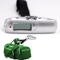 auto hold function handy digital hanging luggage scale for travel with easy grip handle 45kg