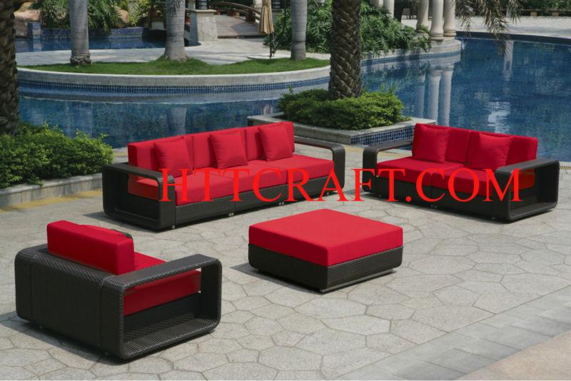 outdoor rattan m bel garten sofa setzt set im garten produkt id 137979333. Black Bedroom Furniture Sets. Home Design Ideas
