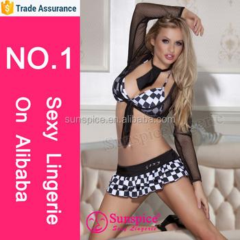 Hot teacher in lingerie