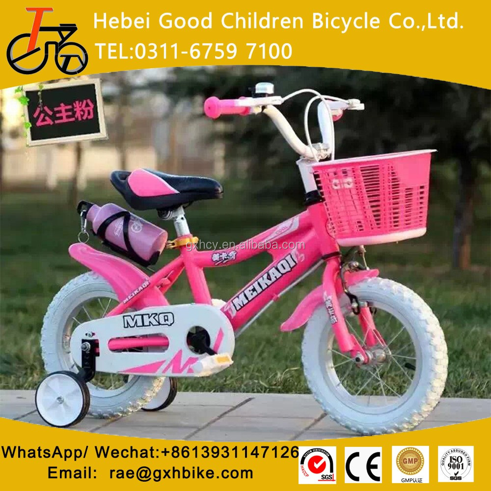 Kid Bicycle For 3 Years Old Children With Training Wheels Kids