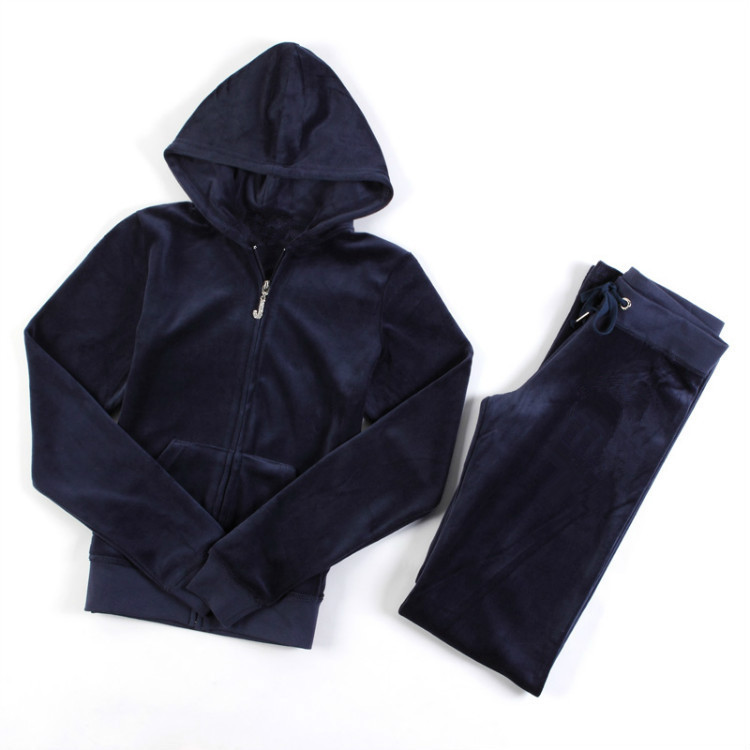 Free Shipping Women's Brand Velvet Tracksuits,Women Velours Suits,Sport Tracksuits,Hoodies & Pants SIZE S--XL #JT10
