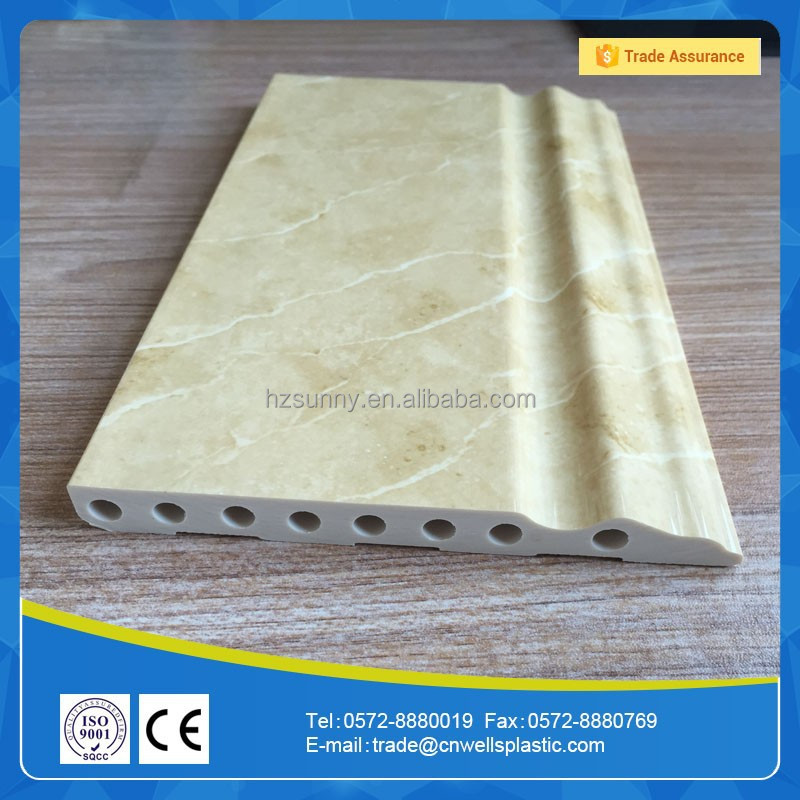Factory Price building materials artificial PVC marble stone