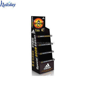 Point of sale units,cardboard rack for adidas shoes