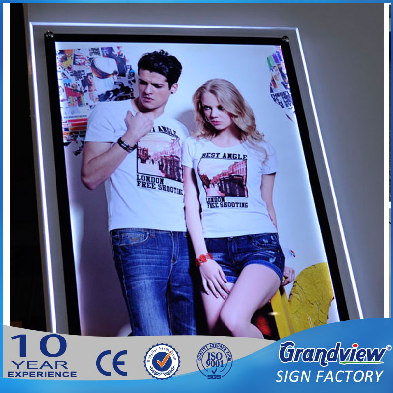 outdoor slim adverdisting led display photography light box