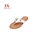 China Wholesale Slippers Shoes Women New Design Girls Flip Flops Ladies Fancy Leather Woman Slippers