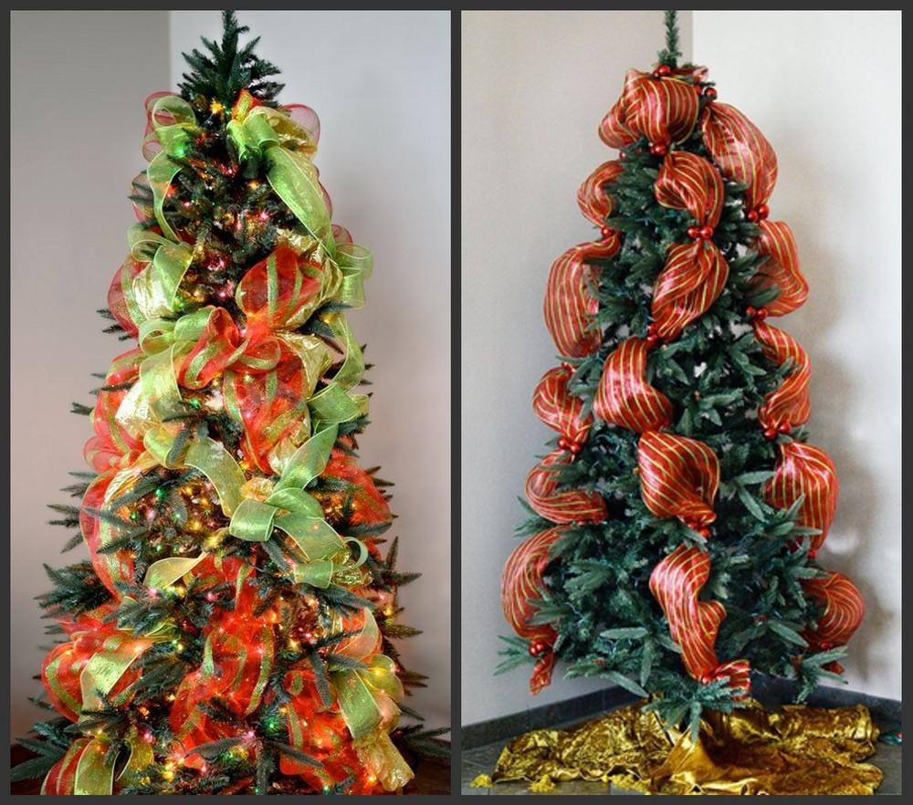 Creativo navidad malla cinta decorativa para la decoraci n - Cintas arbol navidad ...