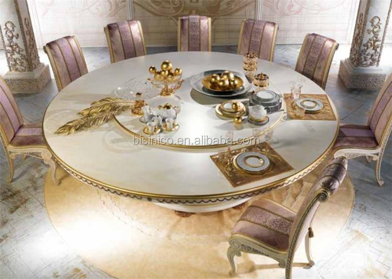 Nouveau rond table manger avec lazy susan luxe grande for Grande table ronde salle a manger