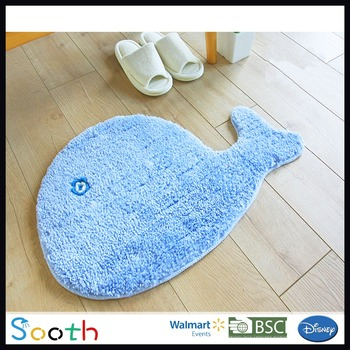 Kids Custom Bathroom Rugs Fish Rug