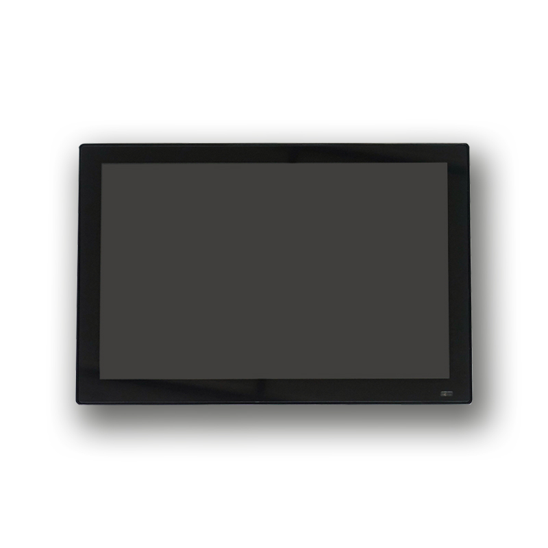 "10.1"" monitor touch screen panel kiosk thin with bezel 3mm 350nits capacitive lcd touch screen monitor"