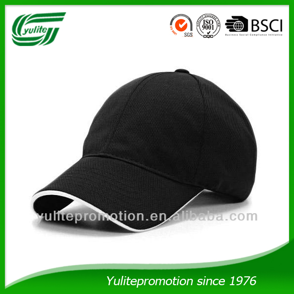 Promotional cotton baseball caps for wholesale