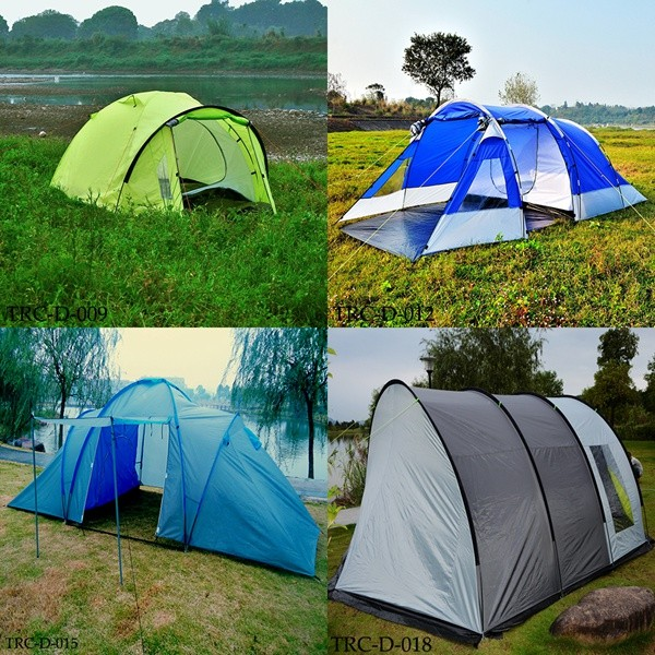 3 or 4 persons outdoor camping tent