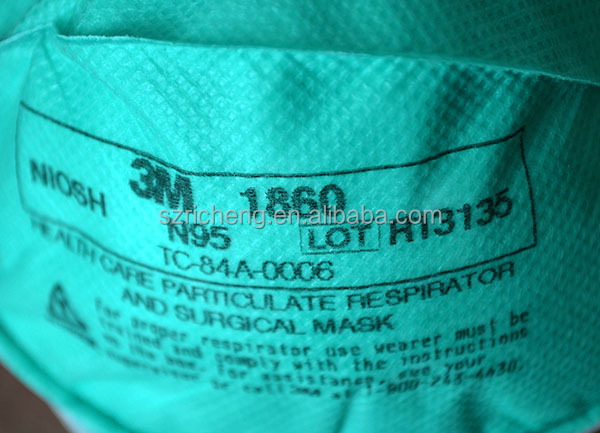 3m 1860 Respirator Mask For Health Care Particulate,Medical,Anti ...