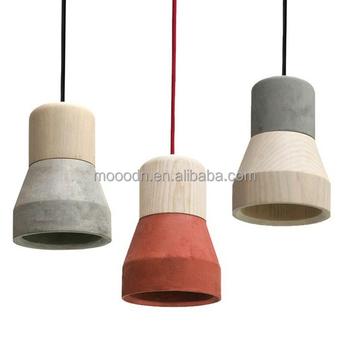 Moderne Caracole Style Industriel Lumière E27 Bois Multi Couleur