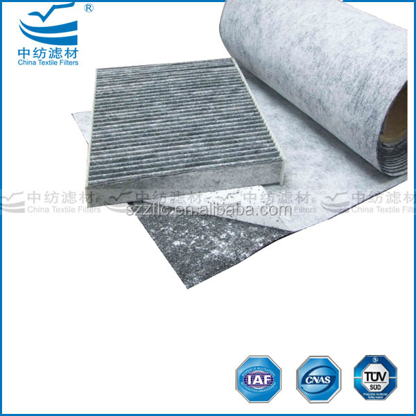 Pleated Activated Carbon Hvac Air Filter