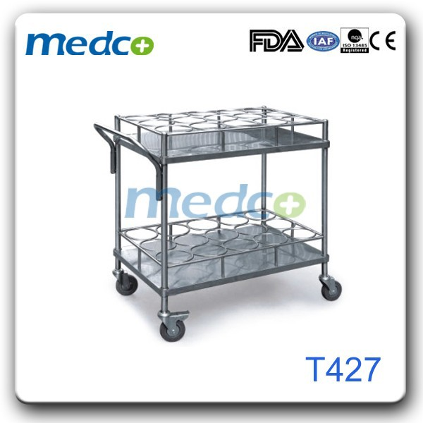 Hot! Water bottle delivery trolley T427
