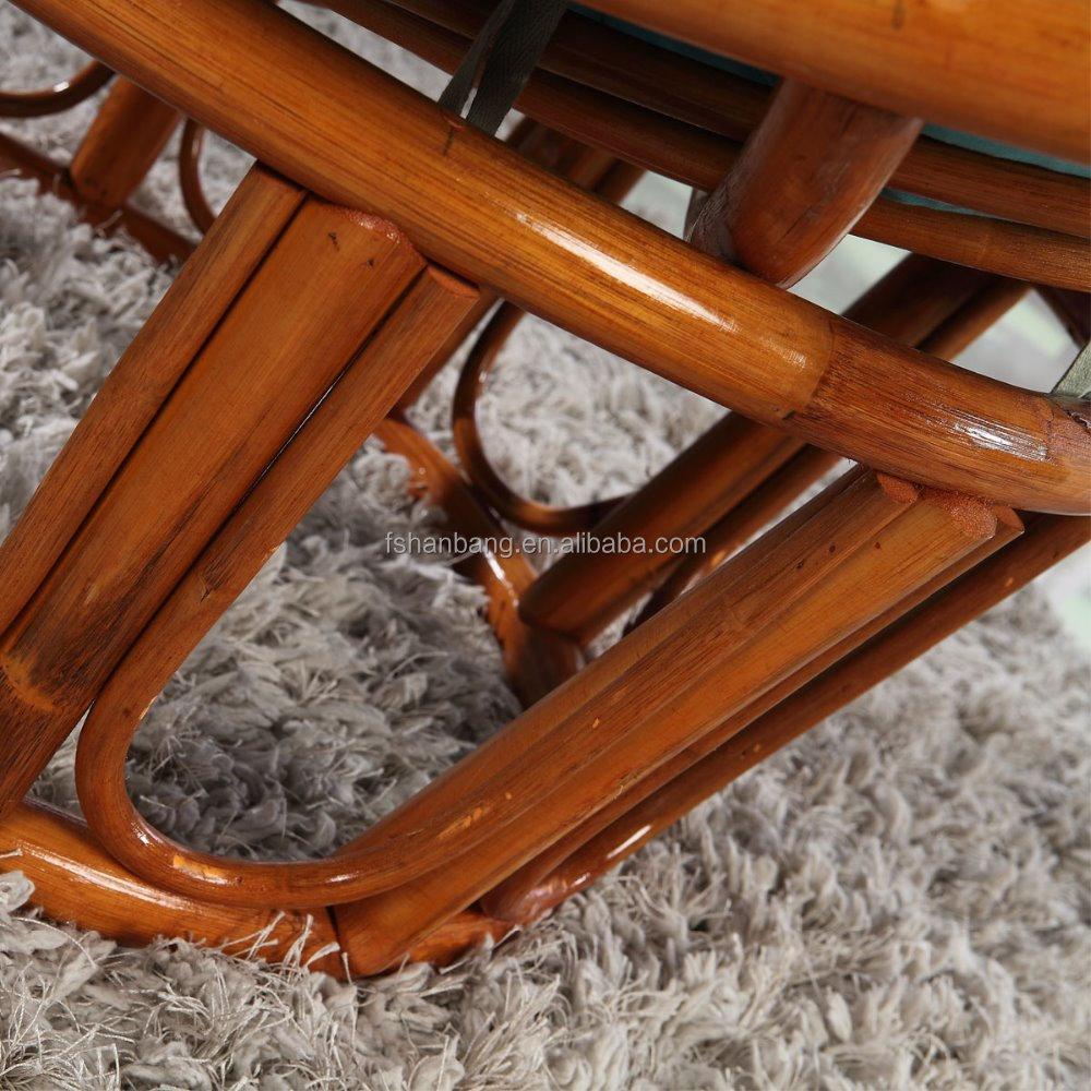 Comfortabel ontwerp bamboe hout slaapkamer woonkamer rotan relax ...