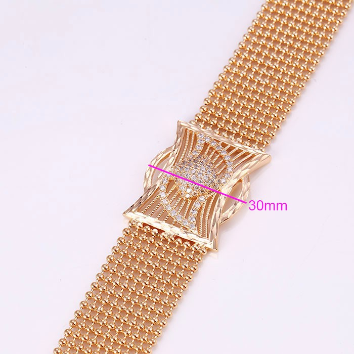 72164 Xuping Fashion Woman Bracelet with Gold Plated