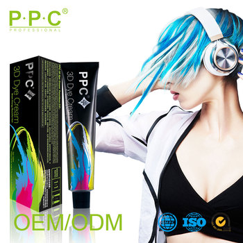 PPCsolon professional italian hair color brands and permanent hair dye is natural hair dye color cream