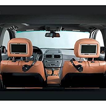 BMW Dual Rear Seat Entertainment System Slimline Headrest Kit, Beige - X3 SAV 2005-2007