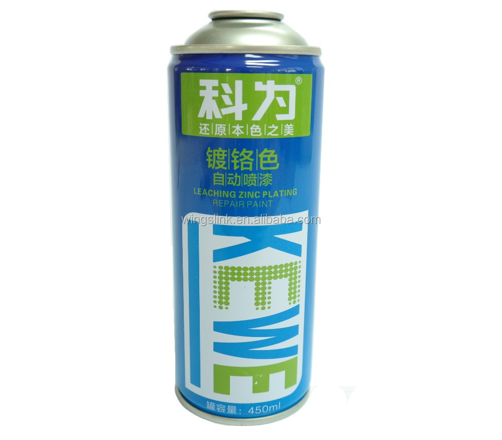 china factory empty aerosol metal spray paint tin can