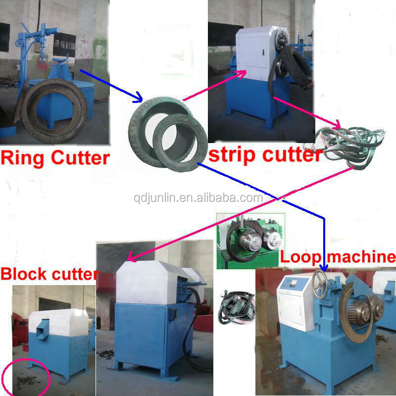Waste Tyre Recycling Equipment / Crumb Rubber Plant / Rubber ...
