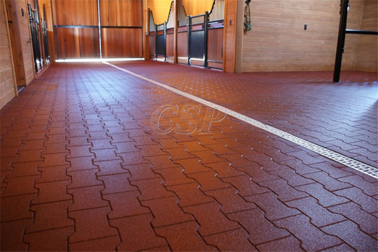Anti Slip Recycled Elastic Driveway Rubber Pavers