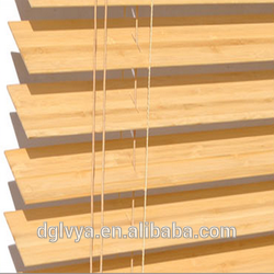 Professional Manufacturing New Style outdoor/indoor hot selling manual uv coating real wood window blind marupa venetian blind
