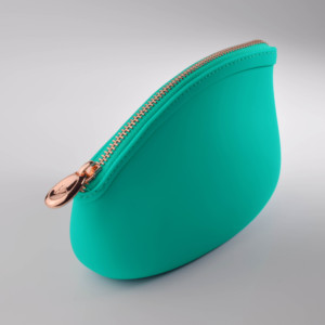 High quality ODM BPA free food grad silicone make up pouch cosmetic bag