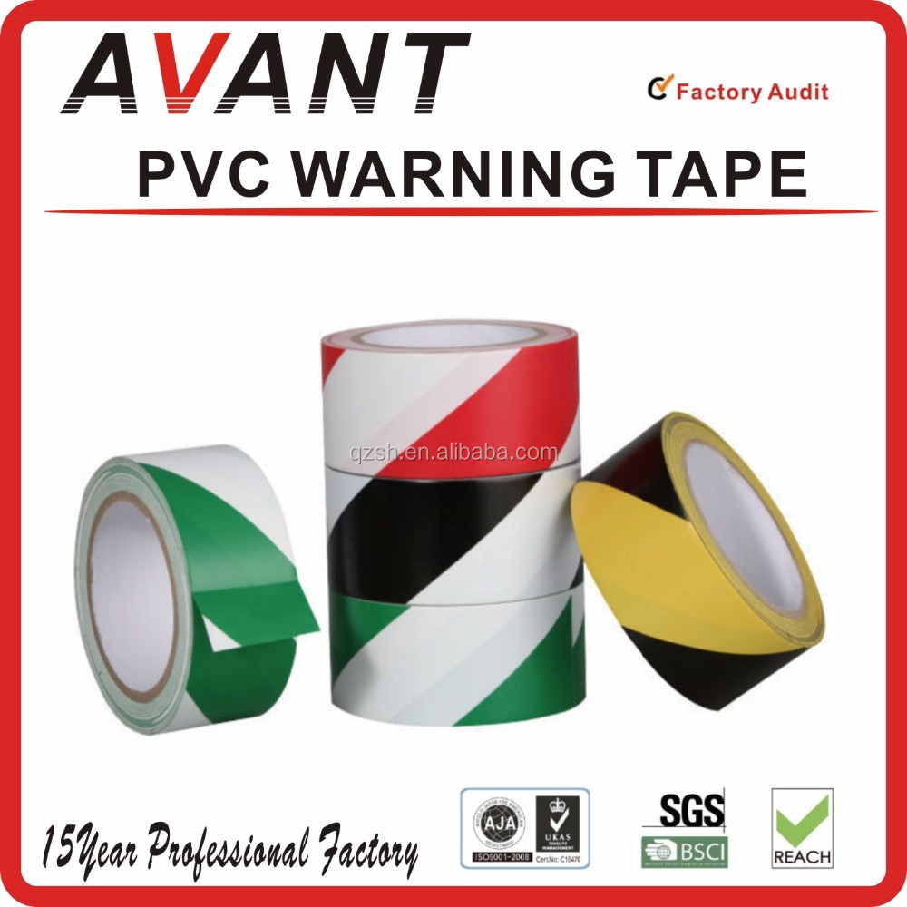 Cheap floor marking pvc tape/cable warning tape