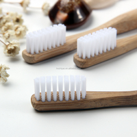Eco Friendly Tooth Brush Wooden Charcoal Nano Bamboo Toothbrushes Soft-bristle Ultra Soft Travel Toothbrush