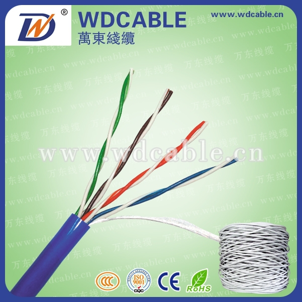 Wandong High Quality RJ45 Patch Ethernet Cat5e Network Cable